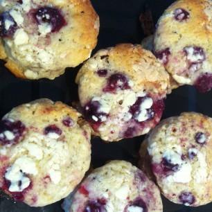 Himbeer-Weisse-Schokolade-Muffins