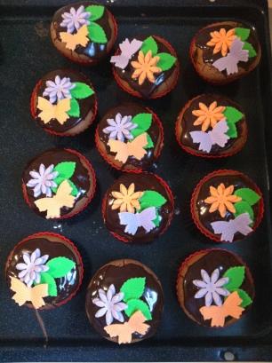 Frühlings-Muffins